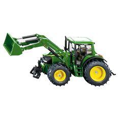 Siku 3652 Tractor John Deere Met Voorlader 1:32 - Siku 3652 Tractor John Deere Met Voorlader 1:32