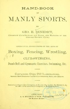 Hand-book of manly sports Olympic Club, Man Games, Dumb And Dumber, The Borrowers, Athletes, Gymnastics, Olympics, Catalog, Archive