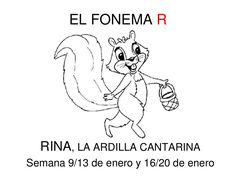 El fonema RR by SusanaMaestradeAL Corralejo Barrero via slideshare