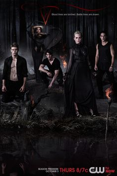 Blood lines are torched!! #TVD premieres Thursday, Oct. 3!