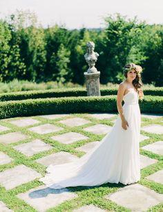 Tendance Robe du mariée 2017/2018  barn wedding bride