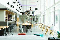 Design by APTO.  --------  Moxy Hotel Milan