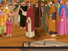 Jesus Heals The Paralysed Man Animation Video (start at 3 min for shorter version)
