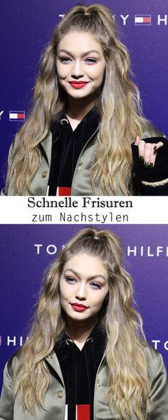 """Gigi Hadid und ihre """"Half up, half down"""" Frisur ist nur eine von über 30 schnellen Frisuren"""