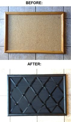 Memo board, total cost under 10$!! Great idea for the ugly bullitin board we have in our office