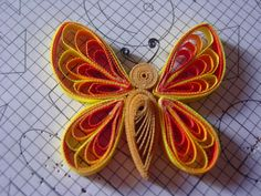 Quilling, Quilled flowers, Quills, Paper craft  Try with adult class