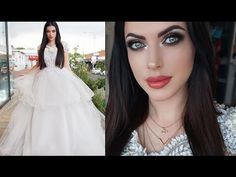 In today's video tutorial I will be doing a dramatic bridal look with a very popular professional designer from South Africa. If you still looking for that wedding inspirational makeup this look may be the perfect fit for you. Glam Makeup Look, Makeup Looks, Bridal Looks, Bridal Make Up, Dramatic Bridal Makeup, My Beauty, Hair Beauty, Maya Mia, Makeup Tutorials Youtube