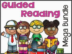 Little Minds at Work: Guided Reading Mega Bundle 101