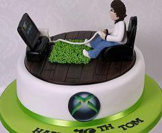playing x box cake - Google Search
