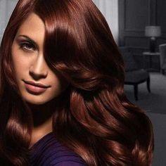 17.Auburn Hair