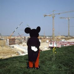 Construction at Disneyland Paris