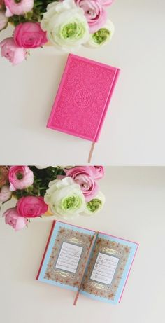 Dimensions: x The Quran on the pictrue is: Pink Fushia. All prices on our site are displayed in Swiss Franc (CHF) and will be charged in . Quran Wallpaper, Quran Sharif, Rainbow Pages, Quran Pak, Persian Poetry, You Are My Life, Pink Wallpaper, Holy Quran, Gifts For Teens