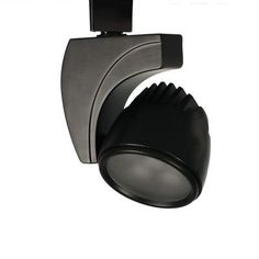 WAC Lighting 3 Light Spot 9W LED Track Head Finish: Black, Track Type: Halo Series, Color Temperature: 4500K