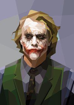 The Joker / Cubismo by Luis Huertas, via Behance Joker, Photoshop, Behance, Illustration, Creative, Fictional Characters, Art, Tattoo, Drawings