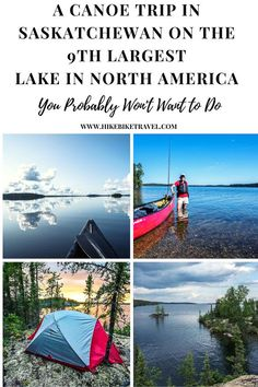 A canoe trip in northern Saskatchewan you probably won't want to do - on North America's 9th largest lake. But great sense of accomplishment, sense of space with no one around and one heck of an adventure #canoeing #Canada #paddlingtrip Canoe Trip, Canoe And Kayak, Canoeing, Kayaking, Northern Canada, Kayak Paddle, Canadian Travel, Visit Canada, Slow Travel