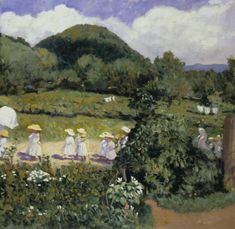 size: Giclee Print: Picnic in May, Summer Day, 1906 by Karoly Ferenczy : Picture Photo, Photo Art, Fine Art Prints, Canvas Prints, Victor Vasarely, Gifts In A Mug, Impressionism, Summer Days, Giclee Print