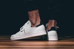 ADIDAS STAN SMITH PRIMEKNIT (WHITE/BLACK) | Sneaker Freaker