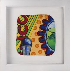 Polymer Clay Plaques, 1 of 4 by Liz Welch