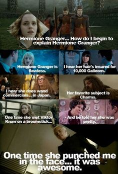 Harry Potter meets mean girls.
