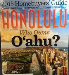 さとうあつこのハワイ不動産: HONOLULU magazine Best in Real Estate 2015