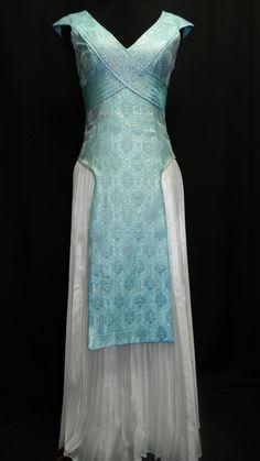 Game Of Thrones Cosplay Daenerys Targaryen Blue silk by Crinolines
