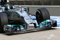 Nico Rosberg, Mercedes AMG F1 W05 with it's new front wing detail
