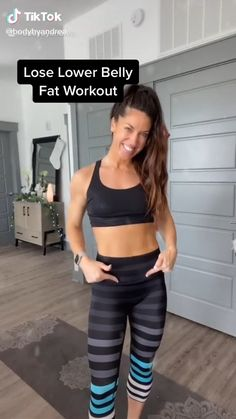 Gym Workout Videos, Core Workout Routine, Gym Workout For Beginners, Slim Waist Workout, Squat Workout, Pilates Workout, Belly Fat Burner Workout, Best Fat Burning Workout, Back Fat Workout No Equipment