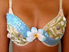 Sea Shell bra - actually a cool idea, but it would be funner with squid and crab legs