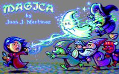 Indie Retro News: Magica - Juan J. Martinez fabulous platformer for the Amstrad CPC