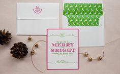 Gus & Ruby Letterpress: Other Occasions & Design: Holiday Cards
