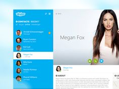 Skype Profile re-redesign by Stan Gursky