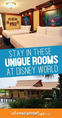 If you are looking for an exceptional time in Walt Disney World with your family, why not consider one of the most unique Walt Disney World hotel rooms? Disney World Hotels, Disney World Vacation, Disney World Resorts, Disney Vacations, Walt Disney World, Disney Worlds, Disney Travel, Disney World Tips And Tricks, Disney Tips