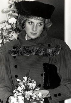 November 29, 1985: Princess Diana at Worthing, West Sussex. St. Barnabas Home, Worthing, West Sussex. She, also, opened Ernest Kleinwort Court for Young Disabled People in Burgess Hill.