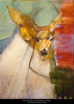 Rebecca Haines - Pippin Contemporary, Santa Fe, New Mexico Organic Art, Abstract Animals, Sketch Painting, Process Art, 2d Art, Animal Paintings, Abstract Paintings, Wildlife Art, Painting Techniques