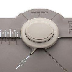 Maßtabelle, bzw. Rechner für Projekte mit dem Stampin' Up! Stanz- und Falzbrett für Umschläge (Envelope Punch Board).