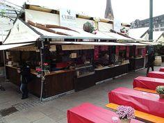 Stuttgarter Weindorf auf dem Rathausmarkt 2013 auf golocal.de