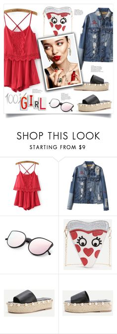 """Girlish Set"" by mahafromkailash ❤ liked on Polyvore featuring KAROLINA"