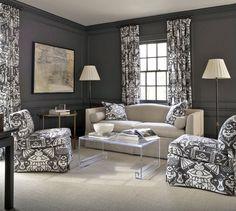 Robert Brown Interior Design - Interior Designer in Atlanta, GA, 30305 Interior Design Atlanta, Interior Design, Furniture, Family Living Rooms, Home, Modern Room, Living Room Furniture Arrangement, Dream Living Rooms, Room