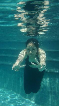 Swim.. blow out your problem..
