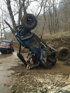 We have a blue rzr now I'm.  Scared