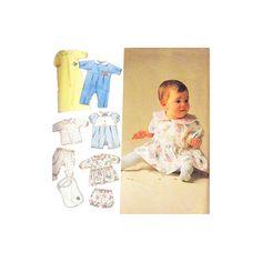 Infant Layette Pattern Simplicity 8089  Romper by monkeyandfriends