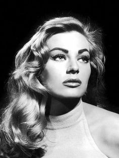Anita Ekberg (b 1931) is a Swedish former model, actress, and cult sex symbol.  She was a Miss Universe finalist.