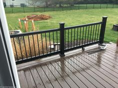 Lowe's Composite Deck by Tropics is a beautiful low-maintenance product that is easy to install. See our beautiful new tropics deck and instructions how to install yours! Composite Decking, Building A Deck, Deck Design, Lowes, Composition, Tropical, Patio, Outdoor Decor, Beautiful