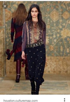 c40e490543 Tory Burch Fall 2015: See the full collection! via @WhoWhatWear 2015 Fashion  Trends