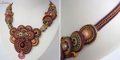 Ожерелья Aurus Jadwiga Soutache Necklace, Fashion Necklace, Fashion Accessories, Bracelets, Women, Ear Rings, Necklaces, Bracelet, Arm Bracelets
