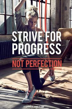 Perfection is a myth, strive for progress! http://www.iamwomanproject.com.au/