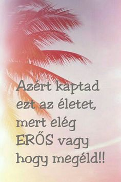 Nagyon erős vagy ♥ Positive Motivation, Positive Quotes For Life, Daily Motivation, Life Quotes, Jokes Quotes, Funny Quotes, Dont Break My Heart, Motivational Quotes, Inspirational Quotes
