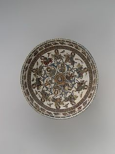 Bowl with astronomical and royal figures, late 12th–early 13th century. Iran. The Metropolitan Museum of Art, New York. Purchase, Rogers Fund, and Gift of The Schiff Foundation, 1957 (57.36.4)