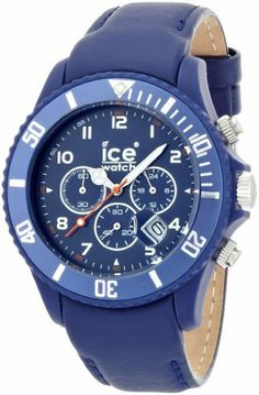 Ice-Watch Chrono - Matte Blue - Big Men's watch #CH.BE.B.L.11 Ice-Watch. $77.55. Quartz Movement. 50 Meters / 165 Feet / 5 ATM Water Resistant. Chrono Collection. 48mm Case Diameter. Mineral Crystal