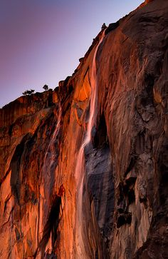 Double Firefall (Horsetail Falls, Yosemite National Park).… | Flickr